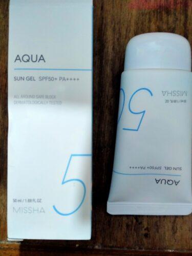 MISSHA  All Around Safe Block Aqua Sun Gel SPF50+ PA++++ 50ml photo review